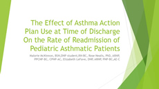 Effect of Asthma Action Plan Use