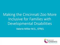 Making the Cincinnati Zoo More Inclusive