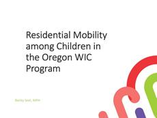 Residential Mobility Among Children