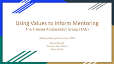 Using Values to Inform Mentoring