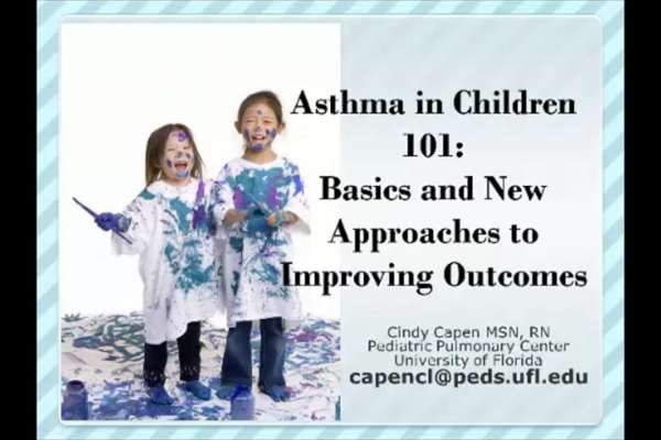 Thumbnail for Asthma 101 in Children video