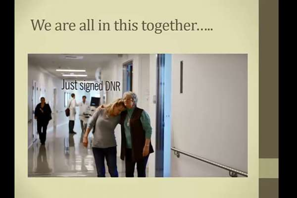 Thumbnail for the The Patient and Family Voice video