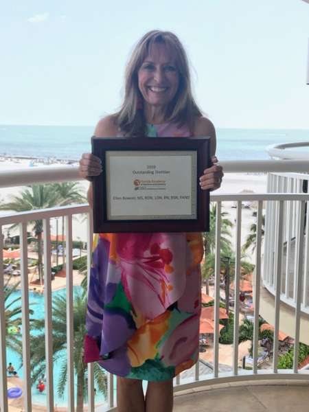 Ellen Bowser - 2019 Outstanding Dietitian of the Year