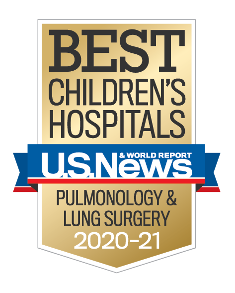 U.S. News Best Children's Hospital Pulmonology & Lung Surgery