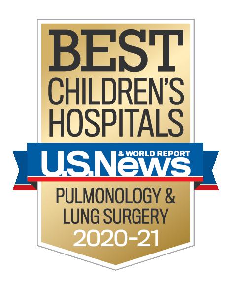 U.S. News Best Children's Hospital Pulmonology & Lung Surgery
